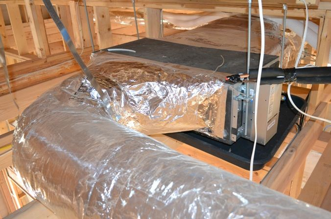Installing Ducted Mini Splits And Erv In Modern High