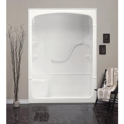 60 Inch 1 Piece Shower | Mirolin - Madison 60 Inch 1-piece Acrylic ...