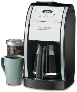 cuisinart dgb 550bk grind and brew coffee maker reivew coffee rh pinterest com cuisinart coffee maker manual chw 12 cuisinart coffee maker manual grind and brew