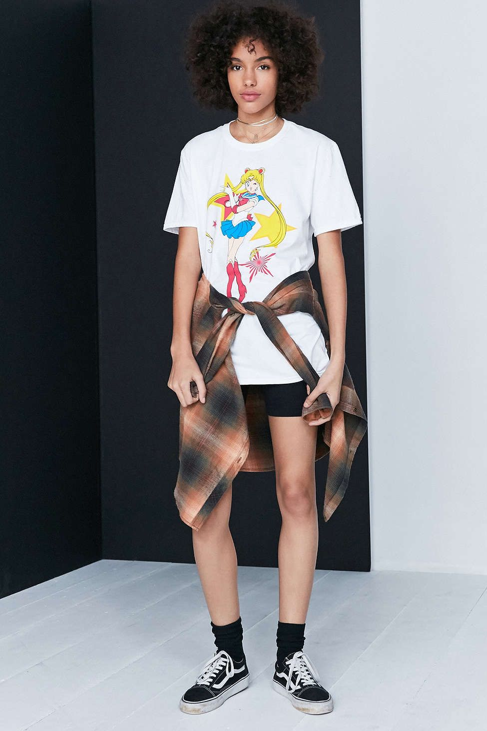 Urban Outfitters online exclusive Sailor Moon t-shirt! Buy here https://api.shopstyle.com/action/apiVisitRetailer?id=613205611&pid=uid6596-37261314-29&site=www.shopstyle.com.au