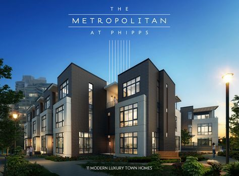 Metropolitan At Phipps Townhomes In 2018 Pinterest