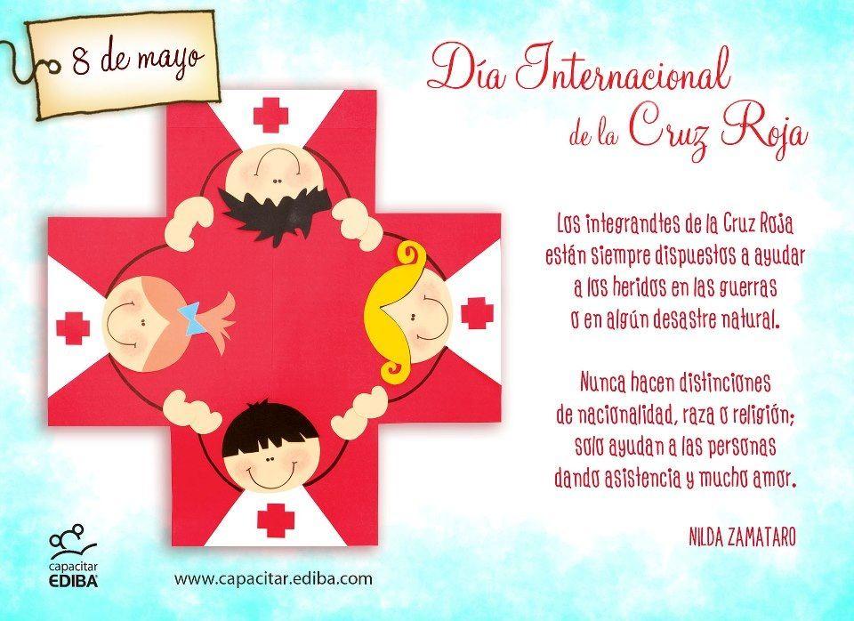 Cruz Roja Cruz Roja Dia De La Cruz Profesiones Para Ninos
