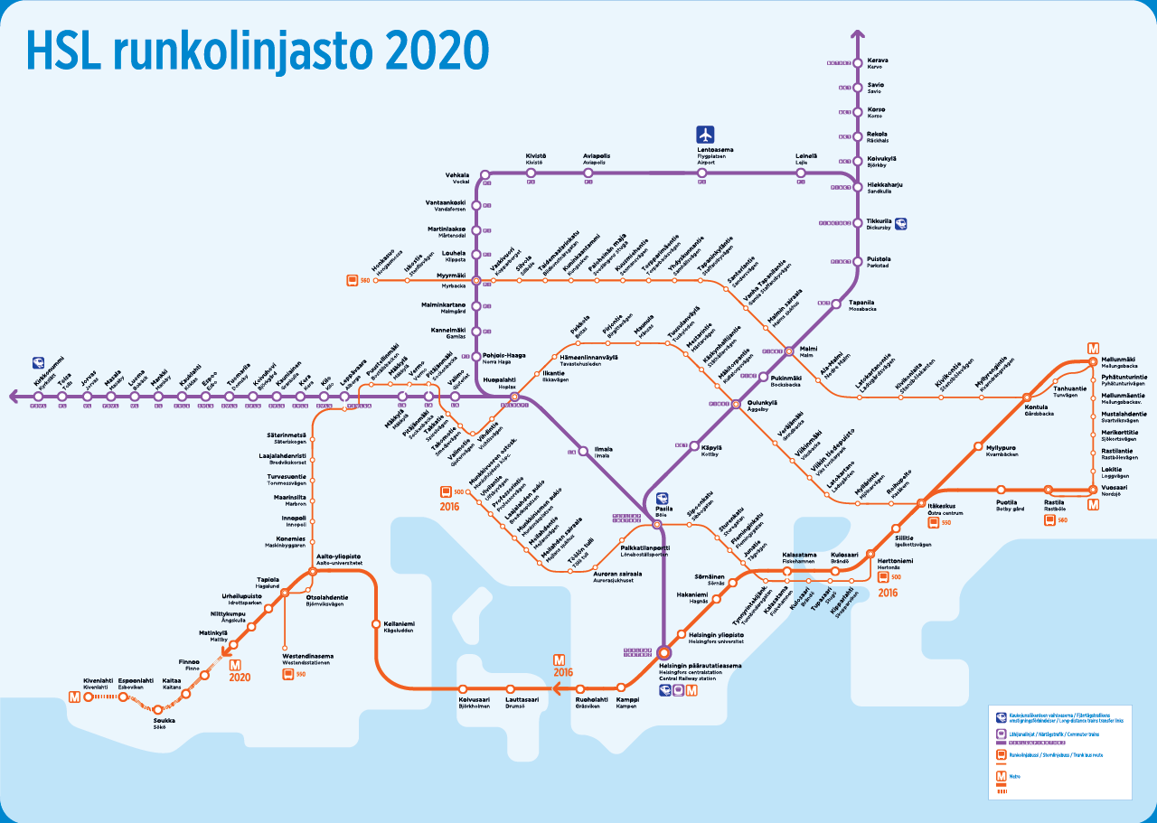 Submission Future Map Rapid Transit in Helsinki 2020 Transit
