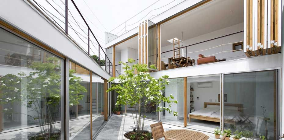 House · Gardenhouse By Takeshi Hosaka
