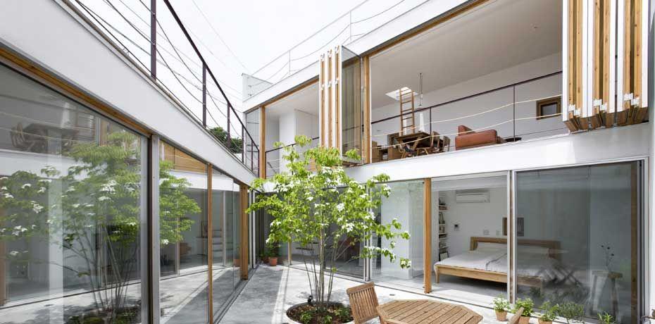 House · Gardenhouse By Takeshi Hosaka