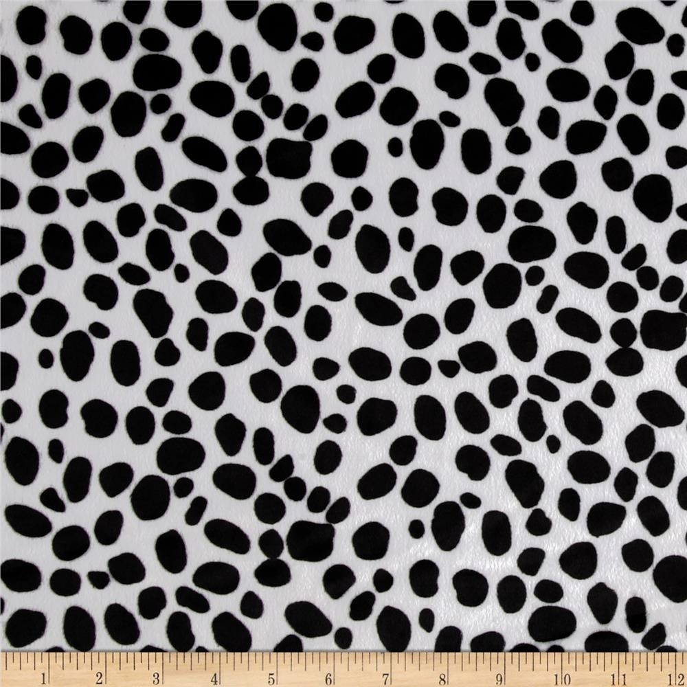 39d0431578c Animal Print Soft Fur Dalmation Black/White from @fabricdotcom This soft  fur is a short 2mm pile faux fur. It's easy to sew, and great for blankets,  throws, ...