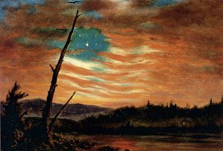 Our Banner In The Sky Ca 1861 By Frederic Edwin Church Lanzas