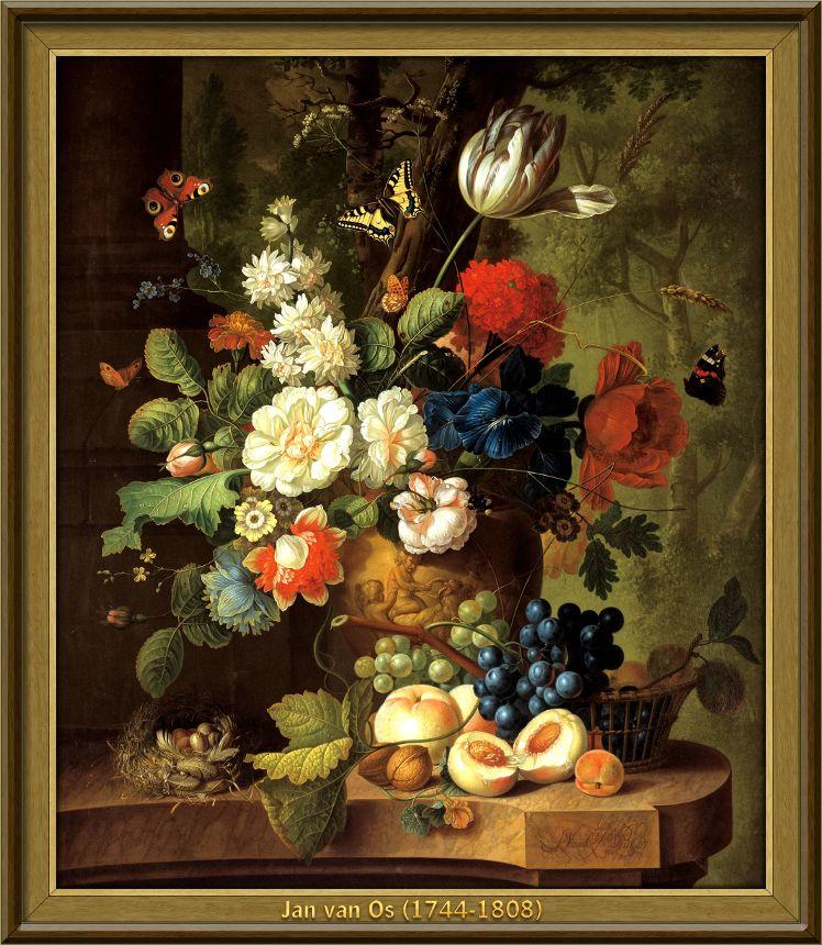 Jan van Os - Bloemen (1780)