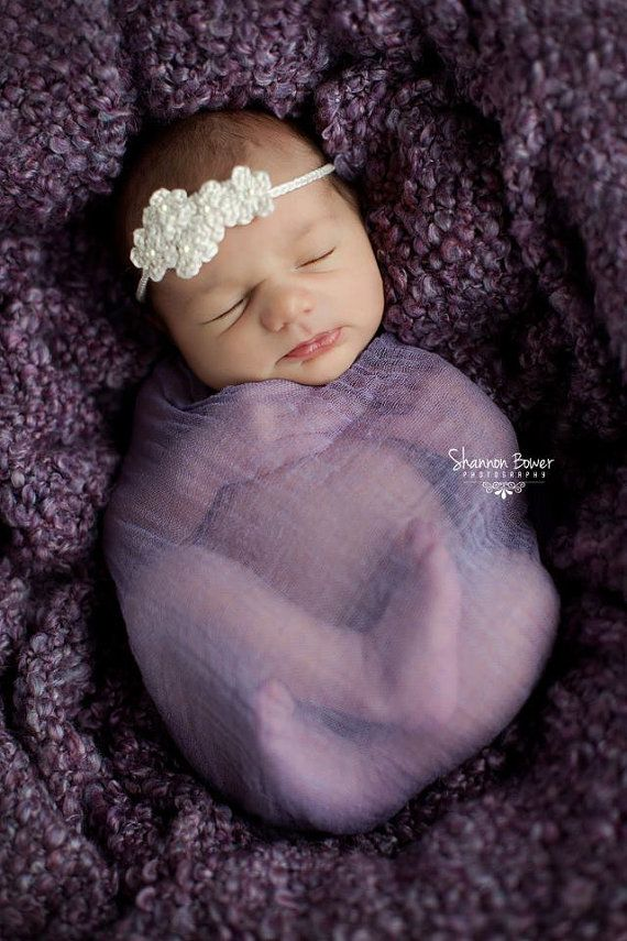 Peach stretch wrap newborn photo props stretch by customphotoprops