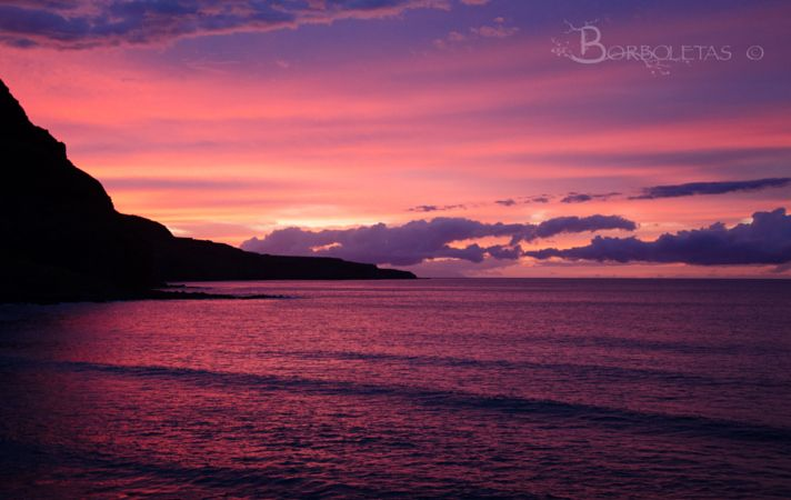 Purple Sunset by Borboletas Photography