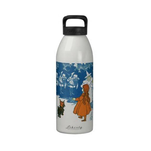 Wizard of Oz Reusable Water Bottles #WizardofOz #Fairytale #WaterBottle