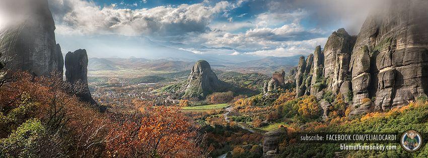 Valley of Fog - Meteora, Greece