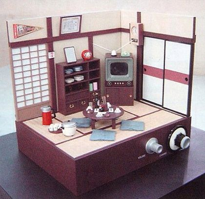 Japan Toys Miniature Living