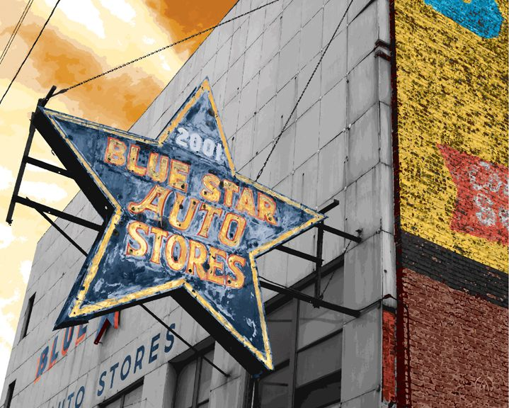 Star Auto Parts >> Blue Star Auto Store Chicago Illinois Built In 1878 The