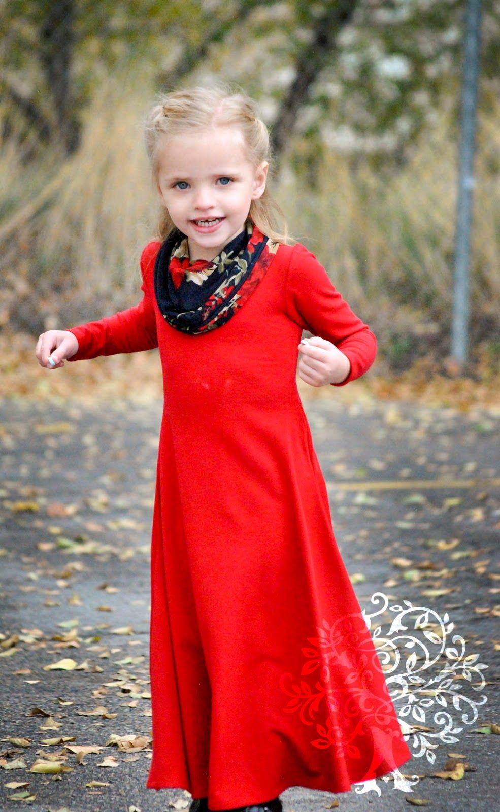 Shaffer sisters winter maxi uptowndowntown dress pattern