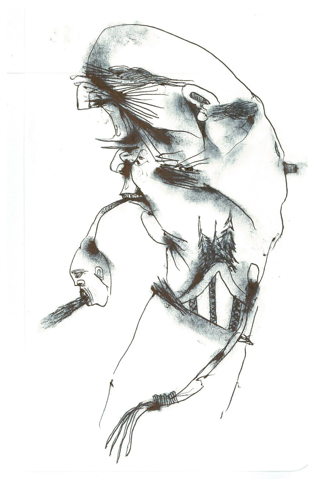 Blog Eerie Pen And Pencil Portraits