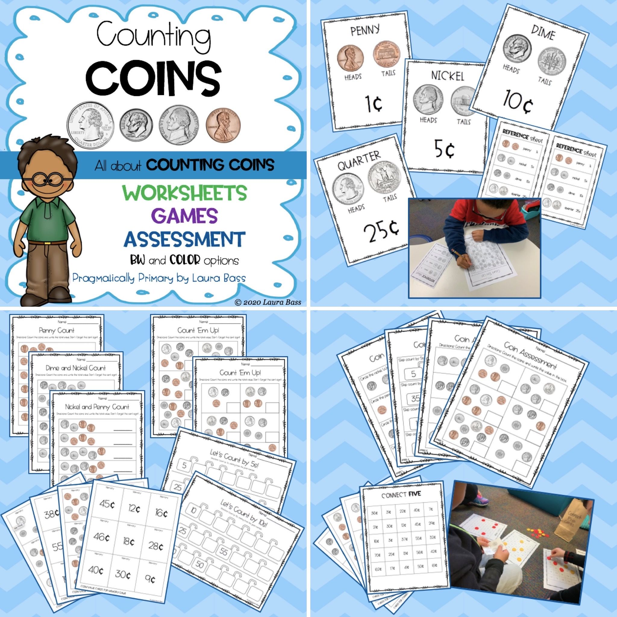 Counting Coins P N D Q