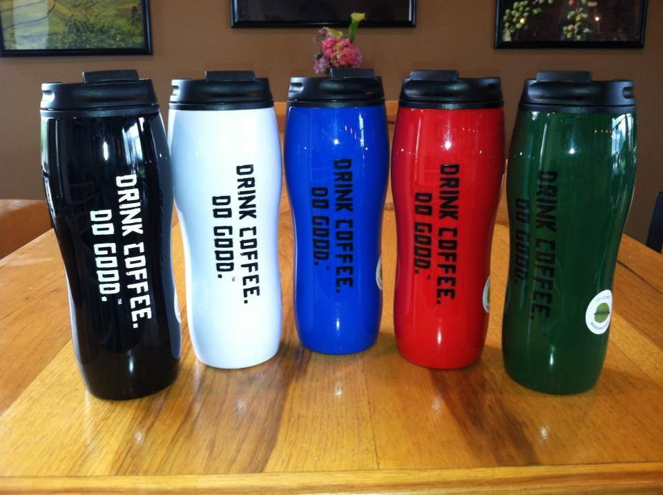 Travel mugs at Land Of A Thousand Hills at Daleville Town Center