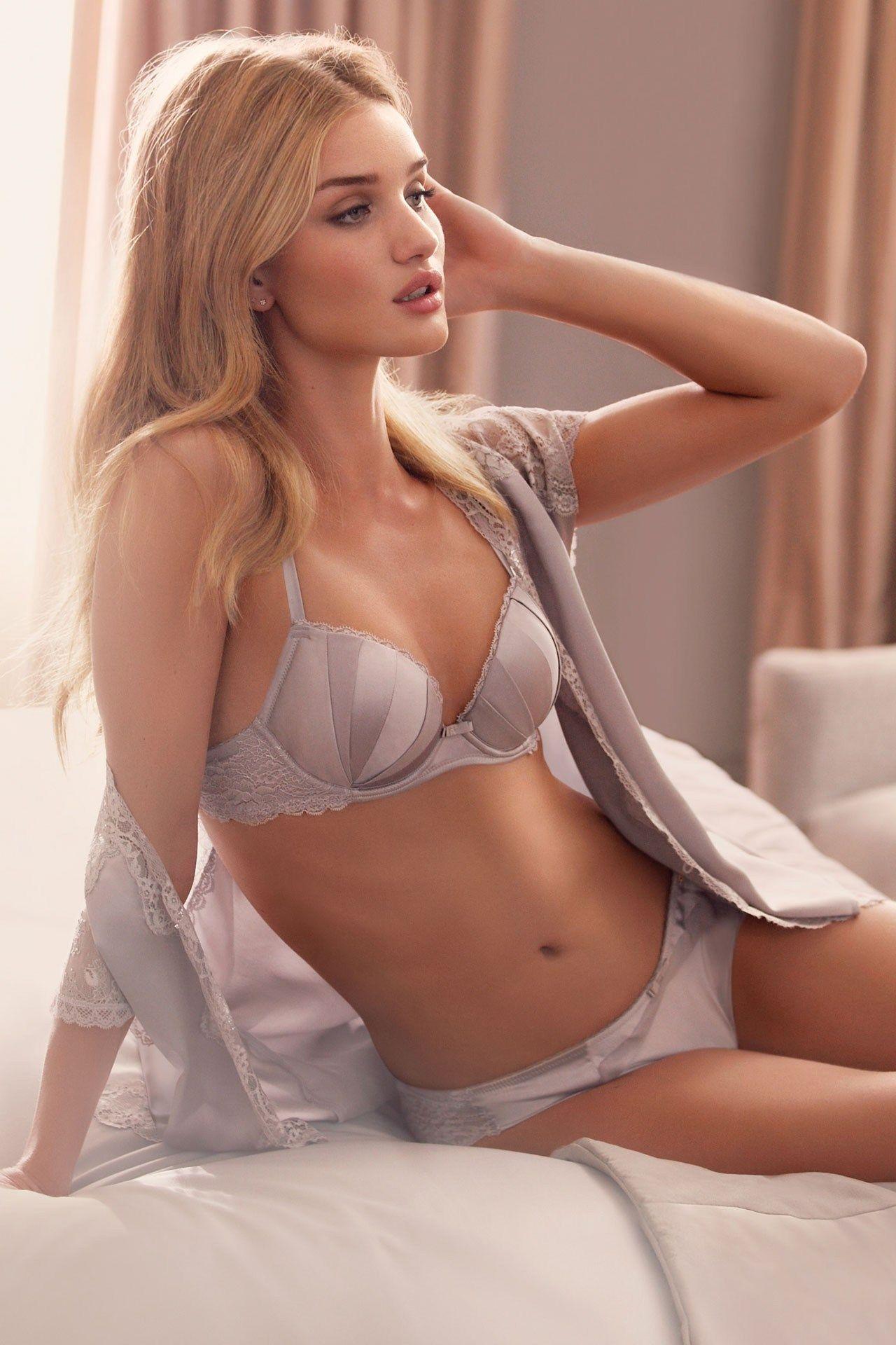 Classy gray - love that bra