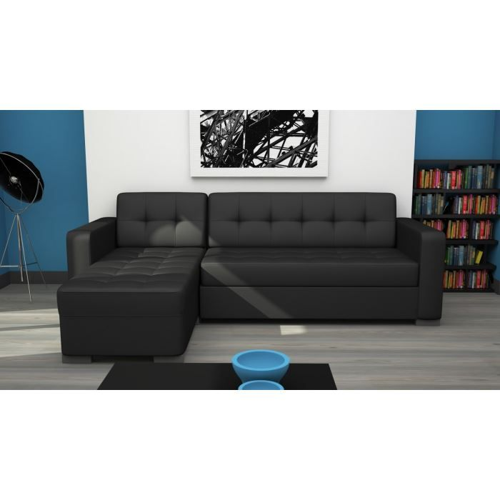 CANAPÉ CLIPP Canapé Dangle Convertible Noir Sofa Pinterest - Canapé convertible noir