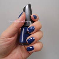 Marineblau: Manhattan * LE Spice up your Nails * 77T