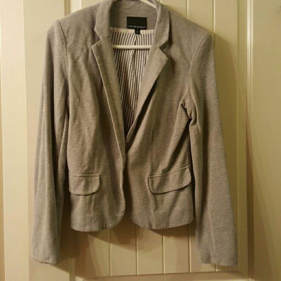 Blazer Gently worn. 100% cotton machine washable blazer Cynthia Rowley Jackets & Coats Blazers
