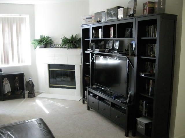 TV storage combination Ikea Hemnes 930 Loft – Tv Storage Cabinets