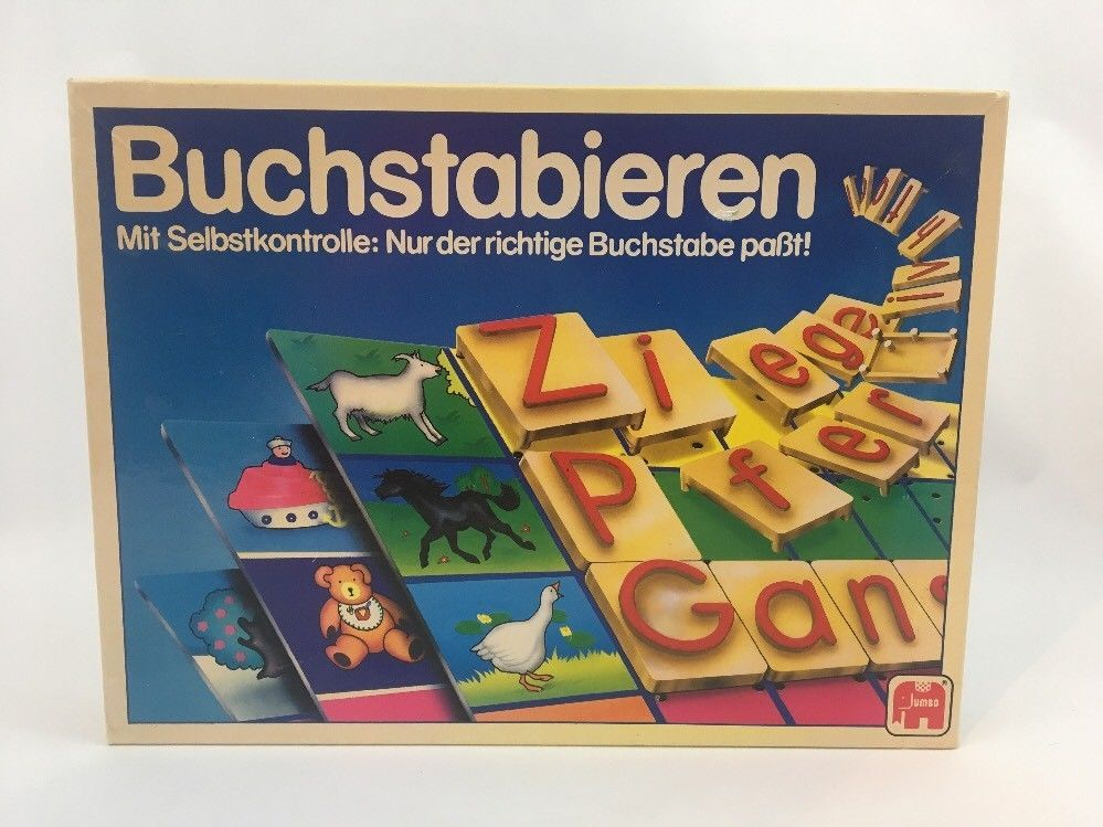 Vtg Discovery Toys Spellmaster Learning Game German ...
