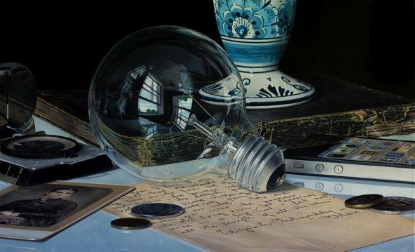 hyperrealisme | Art hyperréaliste, Peinture réaliste, Peinture de nature morte