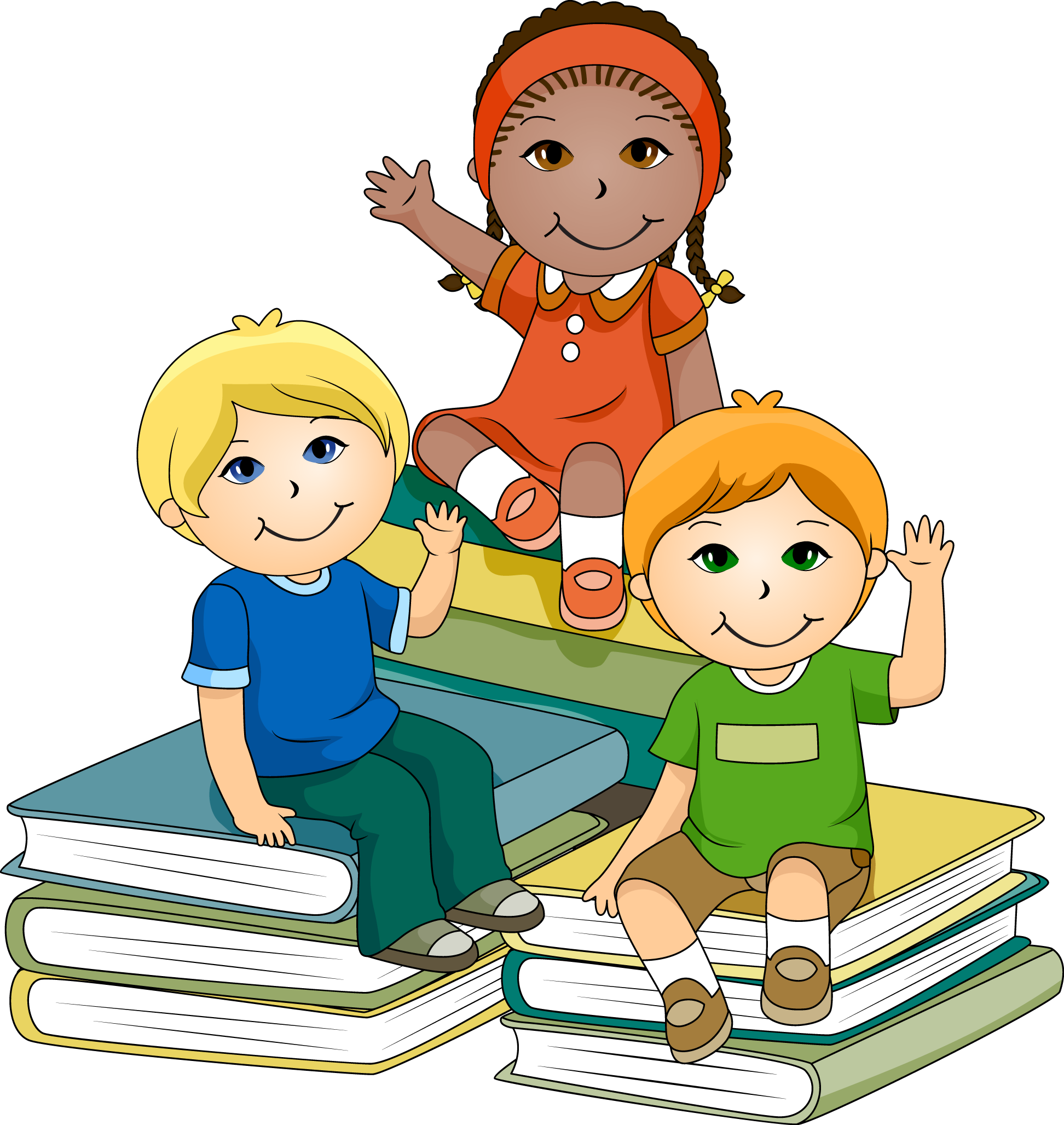 Marvellous Design Kids Reading Clipart Teacher Cliparts Kids Clipart Toddler Books Clip Art
