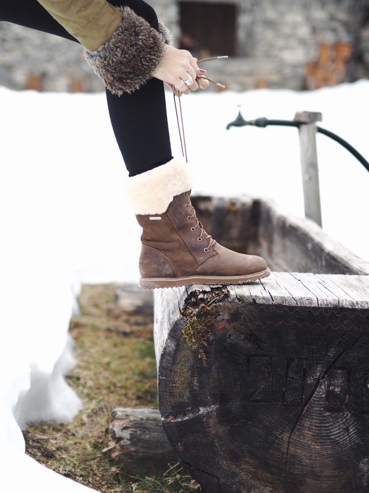 FASHION: EMU'S IN THE SNOW - PRETTYCHICTHINGS
