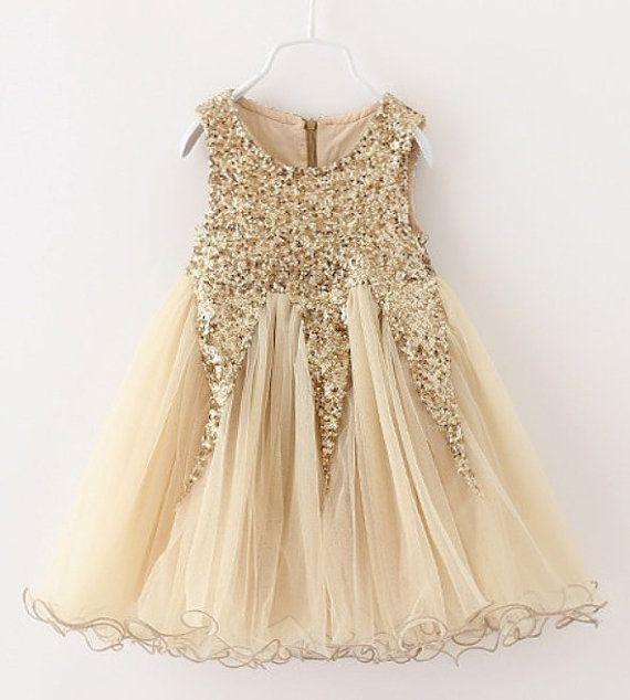 Best 25 Gold Flower Girl Dresses Ideas On Pinterest