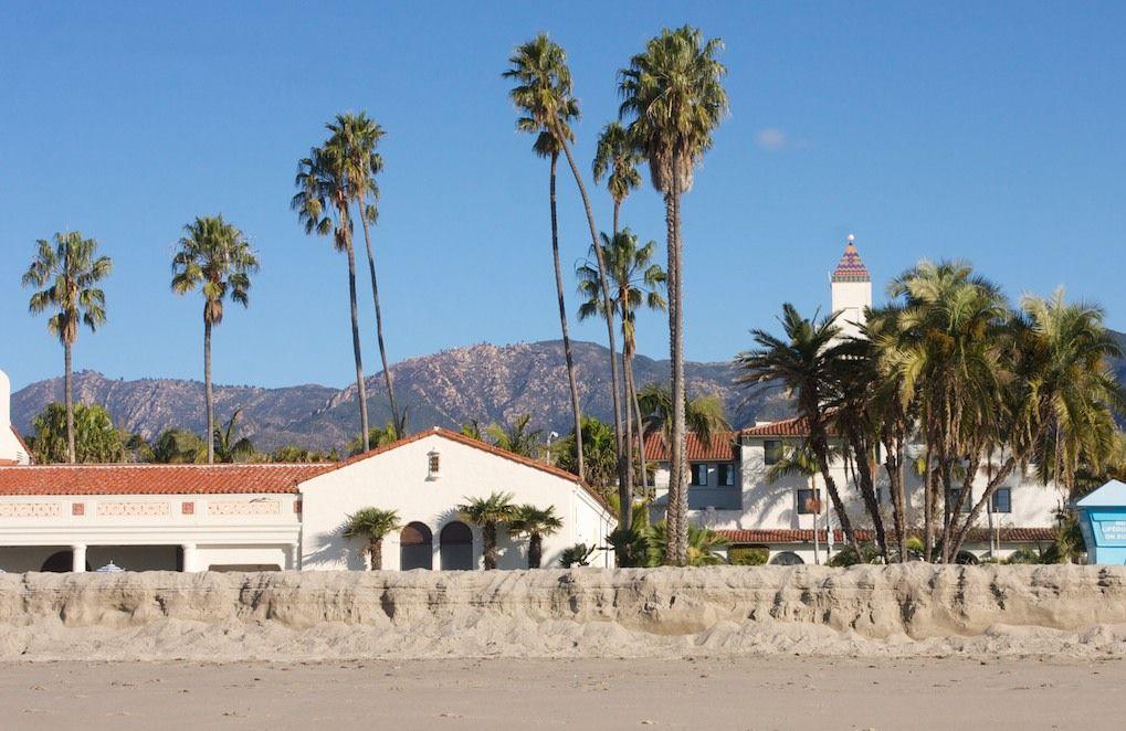 Cabrillo Bathhouse At Santa Barbara Ca