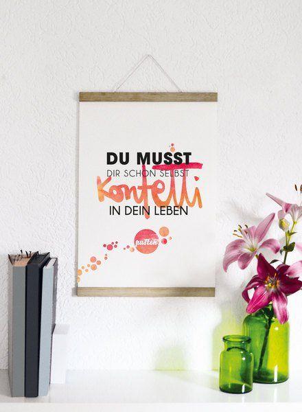 Originaldruck - Konfetti - Druck von Formart - ein Designerstück von Formart-Zeit-fuer-schoenes bei DaWanda