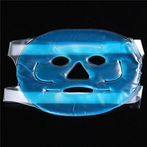 CoCocina Full Face Cooling Mask Hot Gel Beauty Face Mask ...