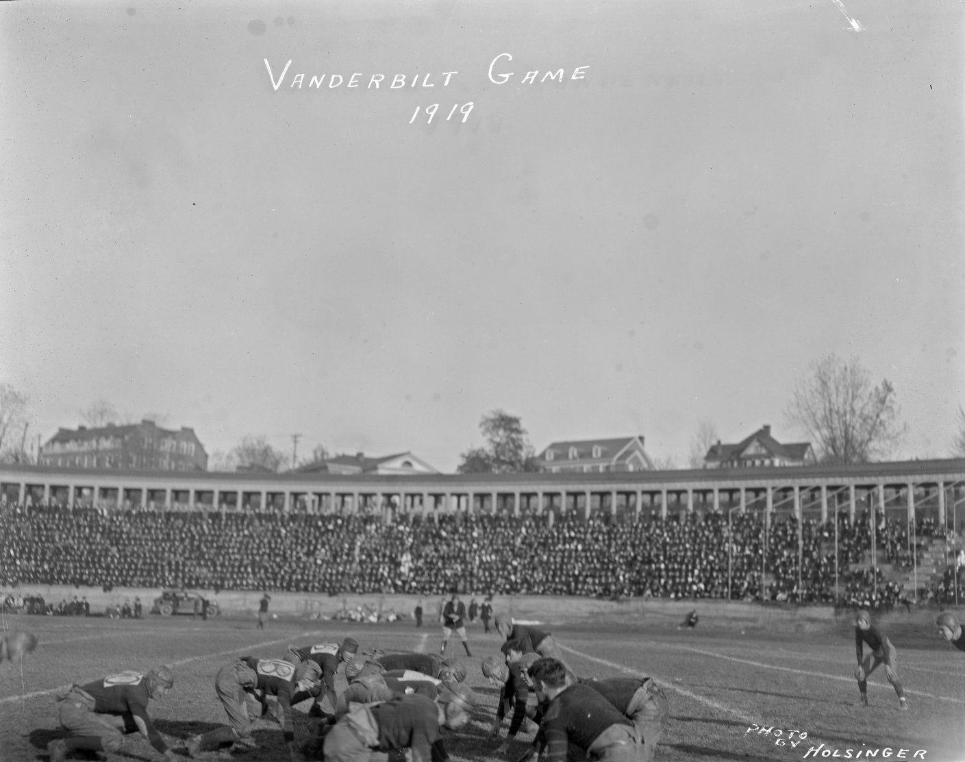 University of Virginia Football Game from Holsinger Studio