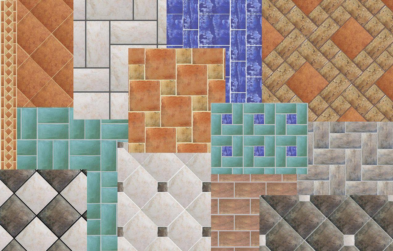 images of tile patterns   Over 30 Different Tile Patterns to Choose ...