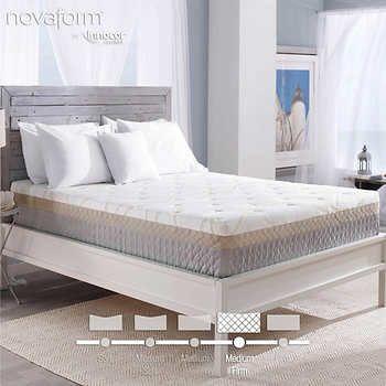 899 Costco Novaform 12 Bella Venta Gel Memory Foam King Mattress