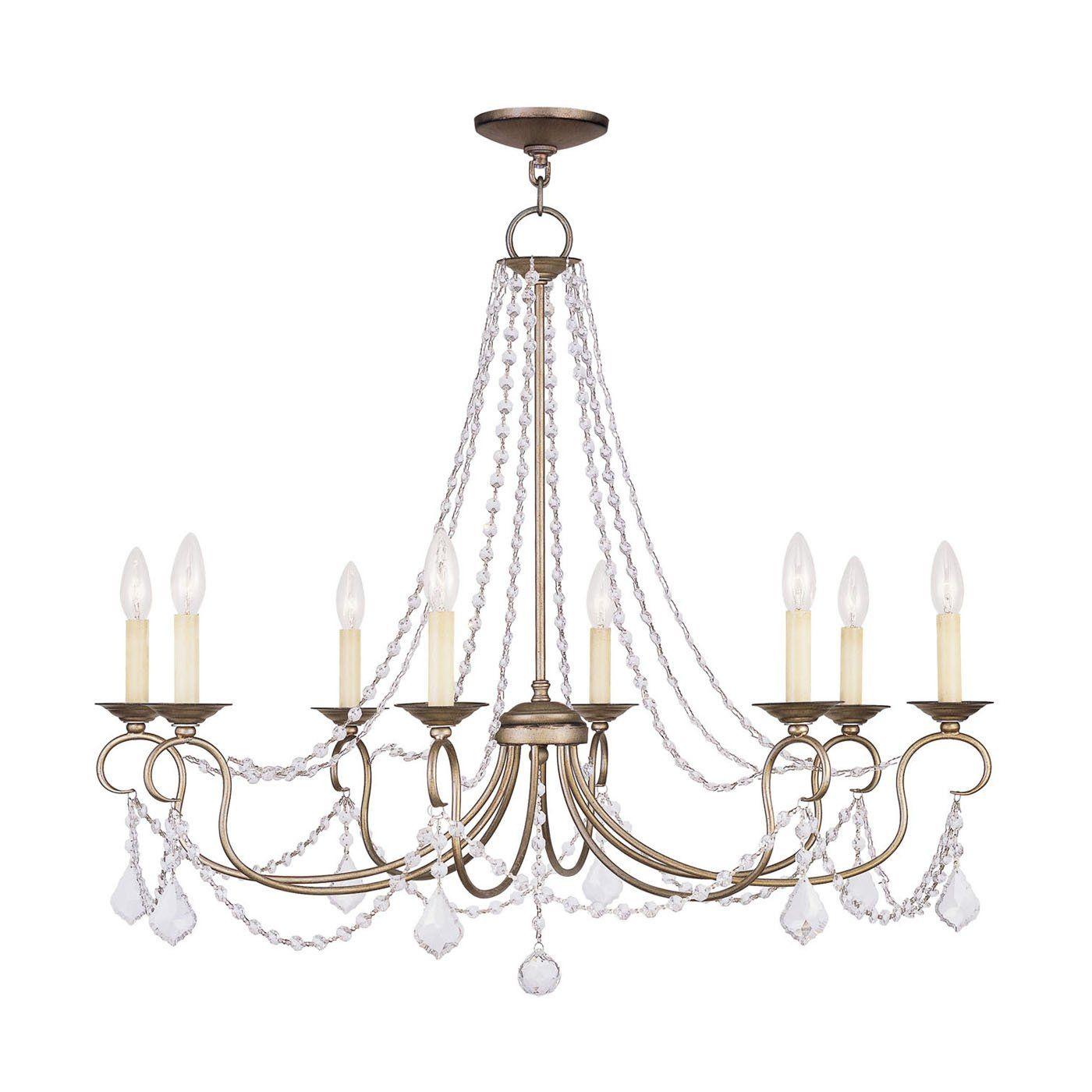 Shop livex lighting pennington light chandelier at loweus