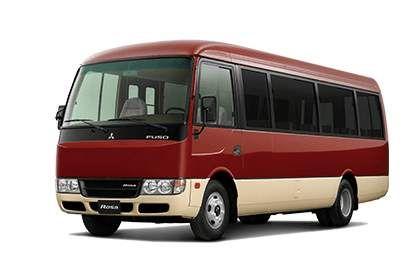Bus Mitsubishi Fuso Rosa Caracteristicas Y Especificaciones Minibus Ahorro De Combustible Anuncios Publicitarios