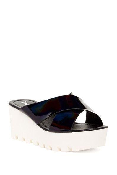 Anyi Mid Wedge Sandal