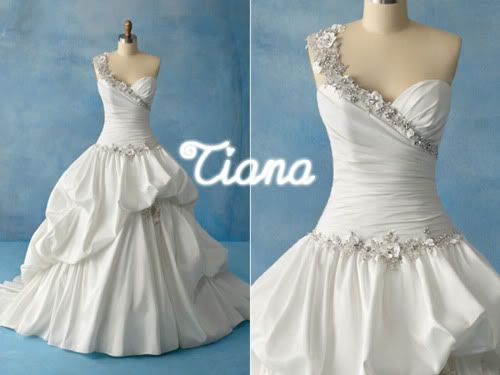 Princess and the frog inspired wedding dress. | Wedding dresses ...