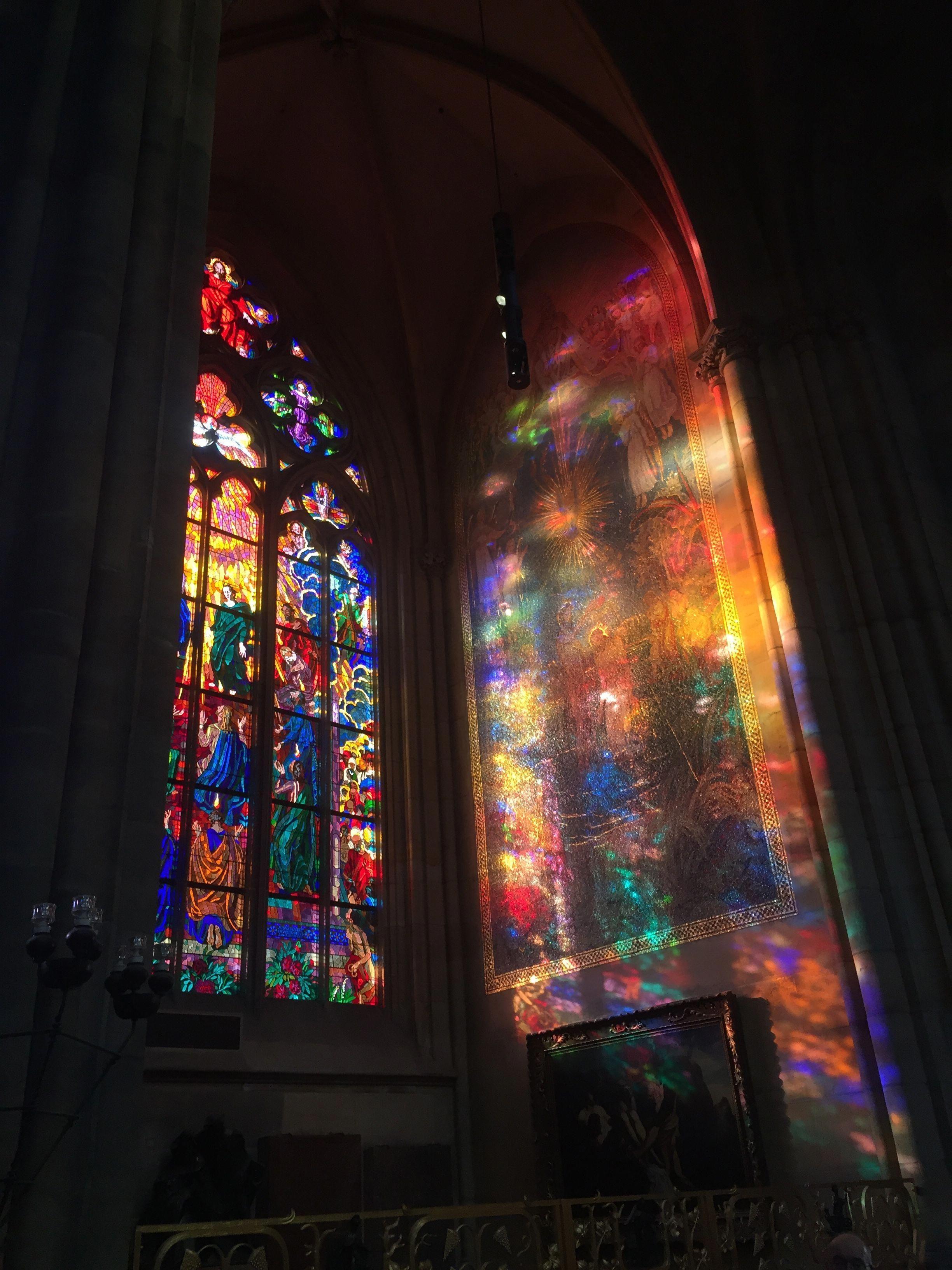 Glassartdiycenterpieces Stained Glass Church Aesthetic Pastel Wallpaper Art Wallpaper