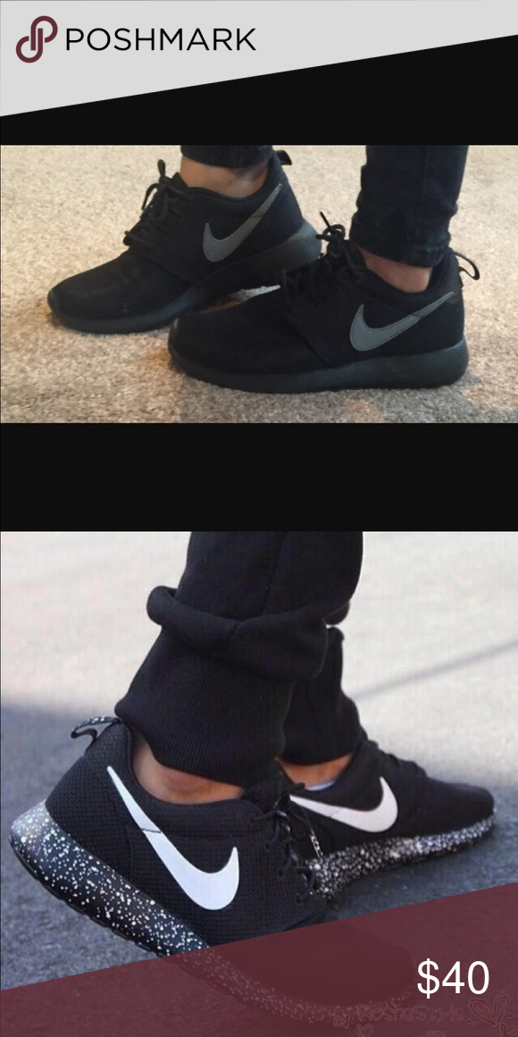 8b94b3e06419 🖤🖤ISO ISO Black Nike Roshes🖤🖤 🖤Looking for women s size 11 Black Nike  Roshes in good condition. Trying not to pay an arm and leg. TIA🖤 Nike  Shoes ...
