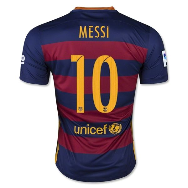 6cef15850ca Lionel Messi Authentic Home Soccer Jersey 15/16 Barcelona #10 | New ...