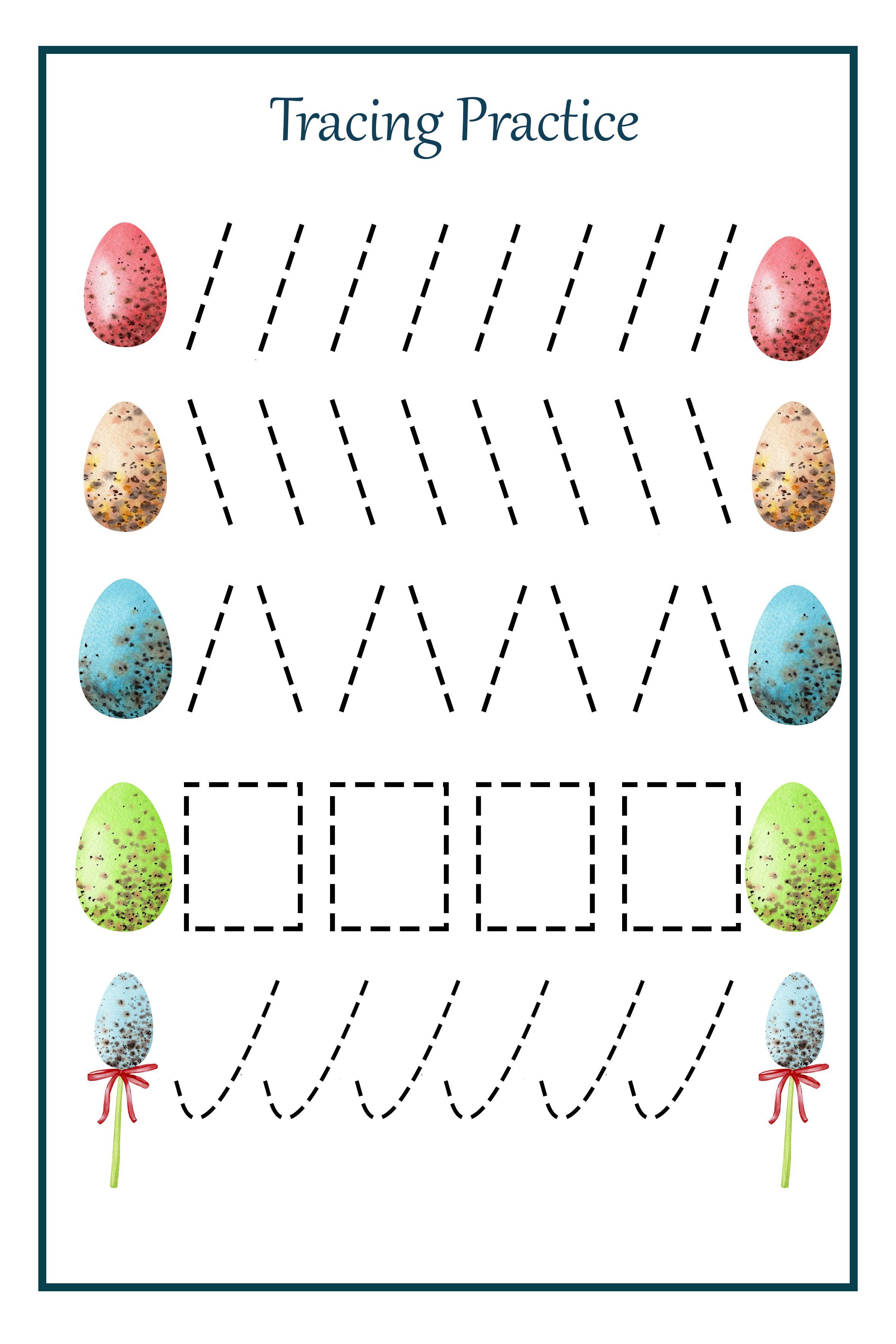 Easter Preschool Pack Easter Preschool Printables Easter