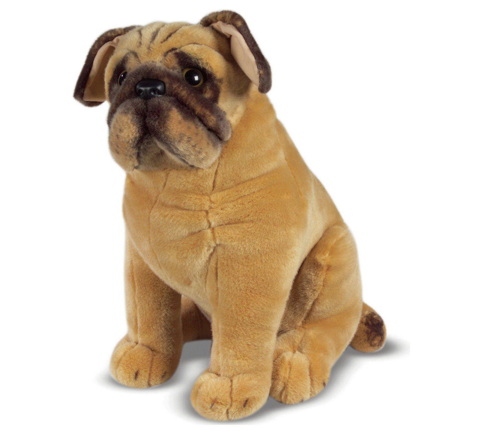 Buy Melissa Doug Pug Soft Toy Teddy Bears And Soft Toys Dog