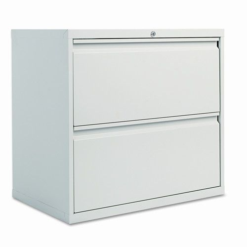 Found it at Wayfair - Two-Drawer Lateral File Cabinet, 30w x 19-1/4d x 29h, Light Gray