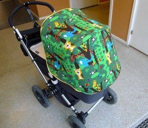 tutorial f r bugaboo dach zu n hen kinderwagendach kinderwagen beziehen ohne schnittmuster. Black Bedroom Furniture Sets. Home Design Ideas