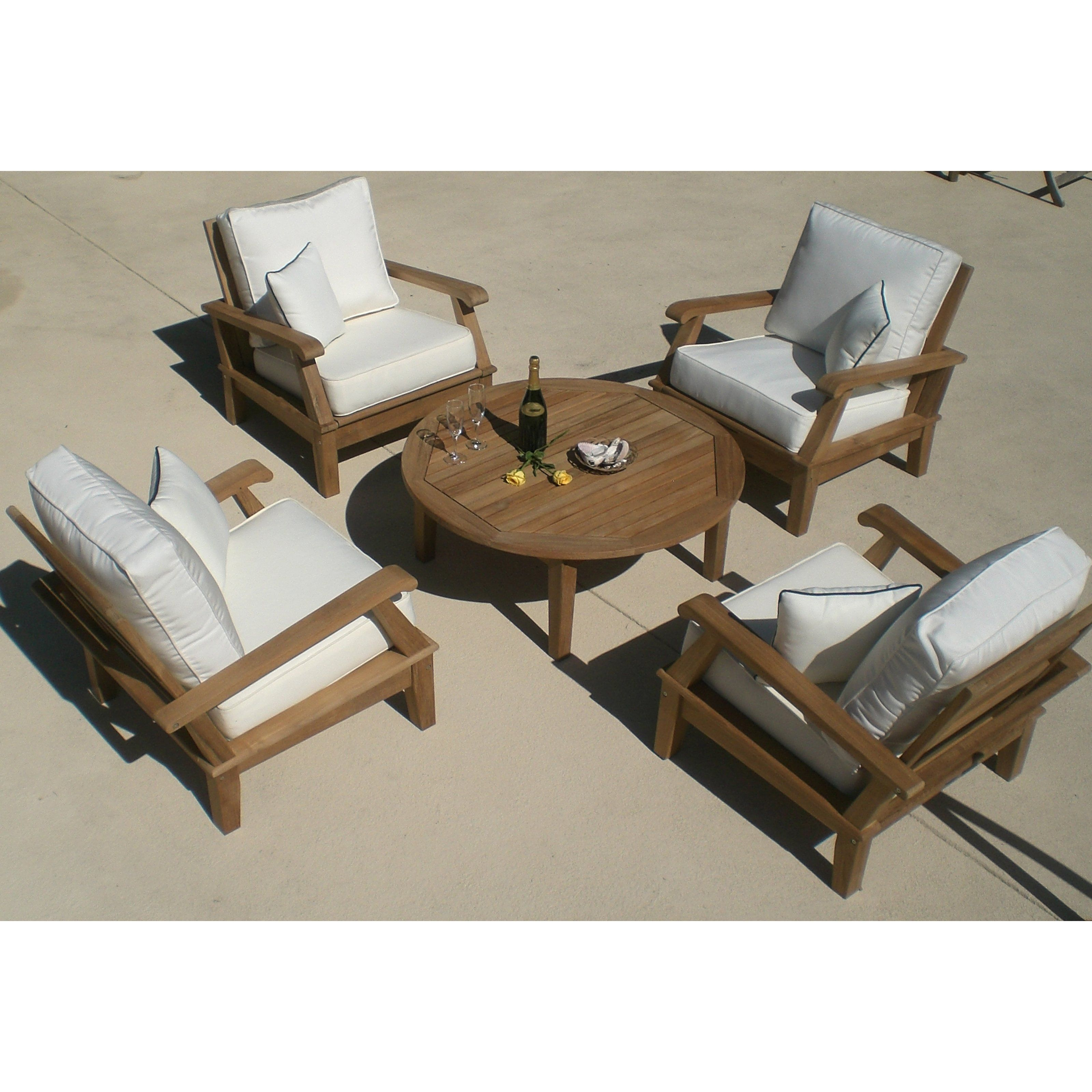 Have to have it Royal Teak Miami Reclining Outdoor Lounge Chair